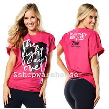 ZUMBA® Party In Pink™ Tee T Shirt Top Racerback Tank