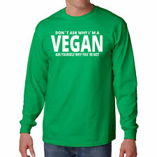 Long Sleeve S Vegan T Shirt Funny New Tee Eat Awesome Possum Animal Lover Mammal
