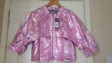 Adidas Stella McCartney Studio Metallic Pink Jacket Running,Gym,Yoga,Dance BNWT
