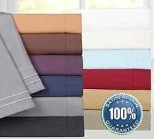 1000TC 100%Egyptian Cotton bedding sets for your bed us all size free shipping