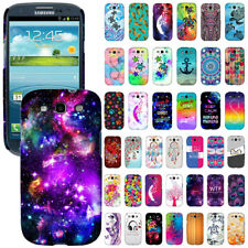 For Samsung Galaxy S3 i9300 T999 Design Protector Hard Back Case Cover Skin