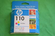 HP 110 Tri Colour Genuine Original Date 2009 CB304AE