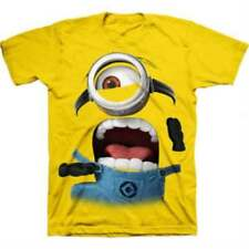 NEW! DESPICABLE ME 2 Boys T-Shirts 5 Different Prints ✭ and Colors Yellow,Red