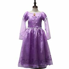 Kids Girls Elegant Prinxess Formal Pageant Wedding Party Tulle Costume Dresses