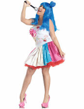 Plus Size Candy Girl Costume Katy Perry California Gurls Fancy Dress Outfit