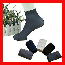 5 pairs of mens short socks Ultra Thin, Comfortable, anti-odor