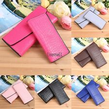 New Fashion Women Alligator Print Wallet and Card Holder Set LM