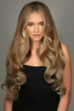 Stranded hair XL Curly thick half head wig 3/4 wig hair piece Various colours