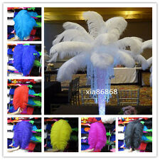 Wholesale 10-100pcs High Quality Natural  OSTRICH FEATHERS 12-30inch/35-75cm