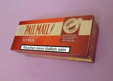 Make your own Pall Mall Red King size cigarette papers filter tubes, like rizla