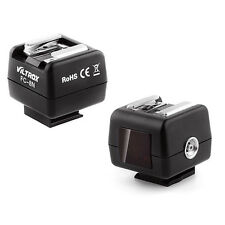 Viltrox FC-8N Trigger Hot Shoe Adapter For Canon Nikon Flash With PC Sync Socket