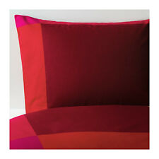 Amazing Ikea BRUNKRISSLA Duvet cover and pillowcase(s), red