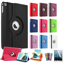 360 Degree Rotation Smart Stand Case Cover For iPad 4 iPad 3 and iPad 2