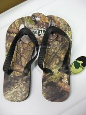 Men's Mossy Oak Camo Break-Up Country Flip Flops / Choose Size / SML MED LG XLG