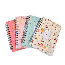 Blooming Flower Notebook Coil Spiral Planner Diary Book stationery Supply JB