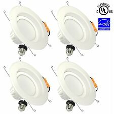 4 X UL Listed 6-Inch Dimmable LED Recessed Lighting,20W (150W Replacement) 5000K