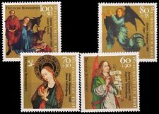 GERMANY 1991-Christmas-Works by M. Schongauer, Set of 4-MNH