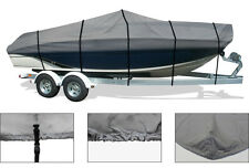 BOAT COVER FOR CAROLINA SKIFF SEA CHASER 230 LX BAY RUNNER W/O T-TOP 2006-2012