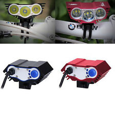 12000Lm CREE XM-L T6 LED Head Front Bicycle Lamp Bike Light Headlamp Headlight