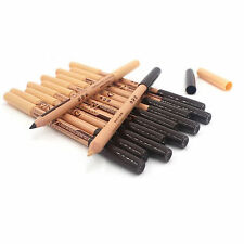 12PCS 2 in 1 Eyeliner/Eyebrow Pencil + Concealer Pencil Professional Make Up