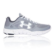 Under Armour Micro G Engage BL H 2 Mens White Grey Running Shoes Trainers