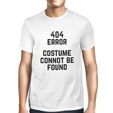 404 Error Custom Not Found T-shirt Halloween Tee Mens Cute Shirt