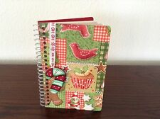 Christmas Country Decoupage Wood Notebooks