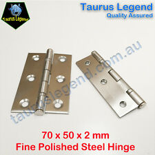 "NEW 3"" Stainless Steel Window Cabinet Hinge 70 x 50 x 2mm (Selective Package)"