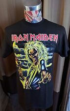 BRAND NEW IRON MAIDEN KILLERS MULTICOLOR HEAVY METAL ROCK BAND BLACK T SHIRT