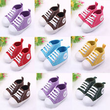 New 0-12Months Cute Baby Infant Toddler Boy Girl Kid Soft Shoes Sneaker
