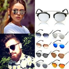 Fashion Mens Womens UV400 Sunglasses Vintage Style Retro Classic Eyewear OK