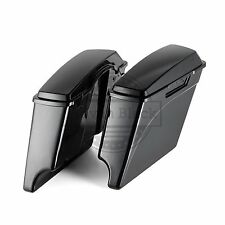 Color-Matched Stretched Saddlebags Lids Bottoms fit Harley '93-'13 Touring