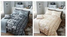 5Pc Knitted Cotton Bed In A Bag Duvet Cover Set Bed Runner