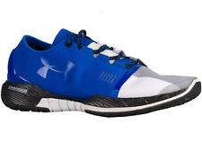 NEW MENS UNDER ARMOUR SPEEDFORM AMP TRAINER RUNNING SHOES TRAINERS ULTRA BLUE