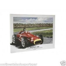 Authentic Maserati Vintage Racing Themed Lithograph on Canvas 5 STYLES