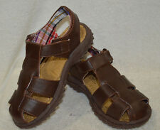 Buster Brown Boy's Max GP Brown Sandals - Assorted Sizes