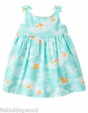 NWT Gymboree Seashore Smiles Seashore dress 0 3 6 12 18 M Baby girls Toddler