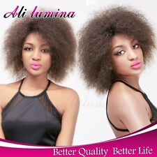 Cheap Afro Kinky Synthetic Lace Front Wig Short Wigs For Women Ombre Red Blonde