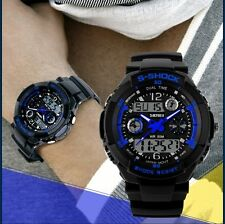 Newest Multi-Function Sport LED Analog Digital Waterproof Men Quartz Wrist Watch