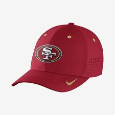 NIKE SAN FRANCISCO 49'ers VAPOR SWOOSH FLEX Adult NFL Fitted Hat 824079 687