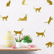 Removable Vinyl Art DIY Quote Cats Wall Decal Mural Sticker Home Room Decor