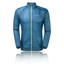 Montane Featherlite 7 Mens Blue Windproof Outdoors Zip Sports Jacket Top