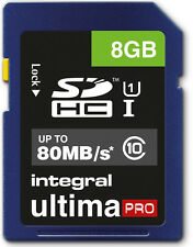 8GB Memory card for Canon LEGRIA FS200 Camcorder | Class 10 80MB/s SD SDHC New