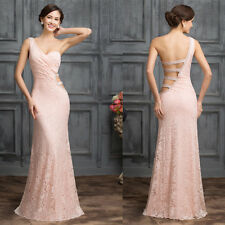 Women Lace Dress Formal Prom Dress Long Evening Party Ball Gown Cocktail Dress