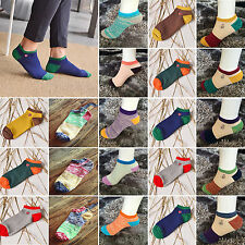 Yeah 1 Pair Ankle Crew Mens Cotton Sport Socks Low Cut Casual Color Sock Fashion