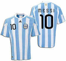 ADIDAS ARGENTINA LIONEL MESSI HOME JERSEY FIFA WORLD CUP SOUTH AFRICA 2010