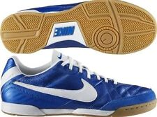NIKE TIEMPO NATURAL IV IC INDOOR SOCCER FUTSAL SHOES Soar/White