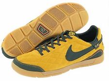 NIKE 10R PELADA RONALDINHO INDOOR SOCCER SHOES Yellow Ochre/Pro Green.