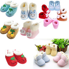 Girls Boys Winter Warm Infant Baby Shoes Walking Toddler Crib Shoes Soft Boots