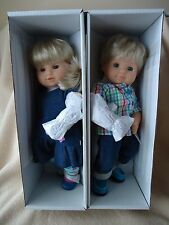 American Girl Bitty Twin Boy + Girl DOLLS Blonde Blue Eyes NEW Bitty Baby